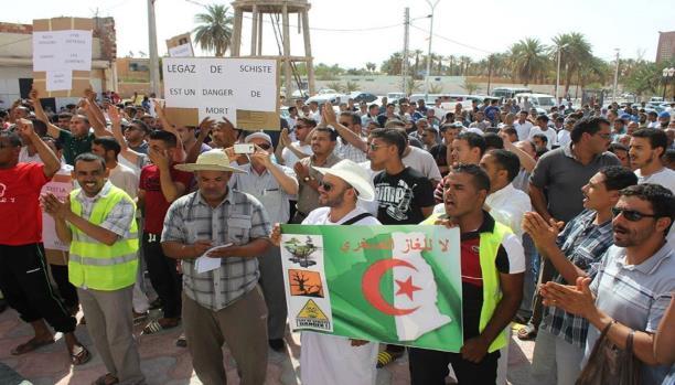 الحراك الرافض للغاز الصخري بالجزائر: نرفض الاستغلال الحزبي لاحتجاجاتنا