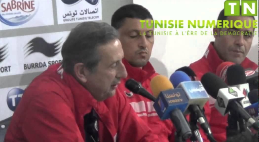 ندوة مدرب المنتخب التونسي ليكانز