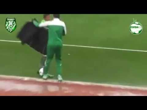إلتفاتة انسانية من لاعب تونسي
