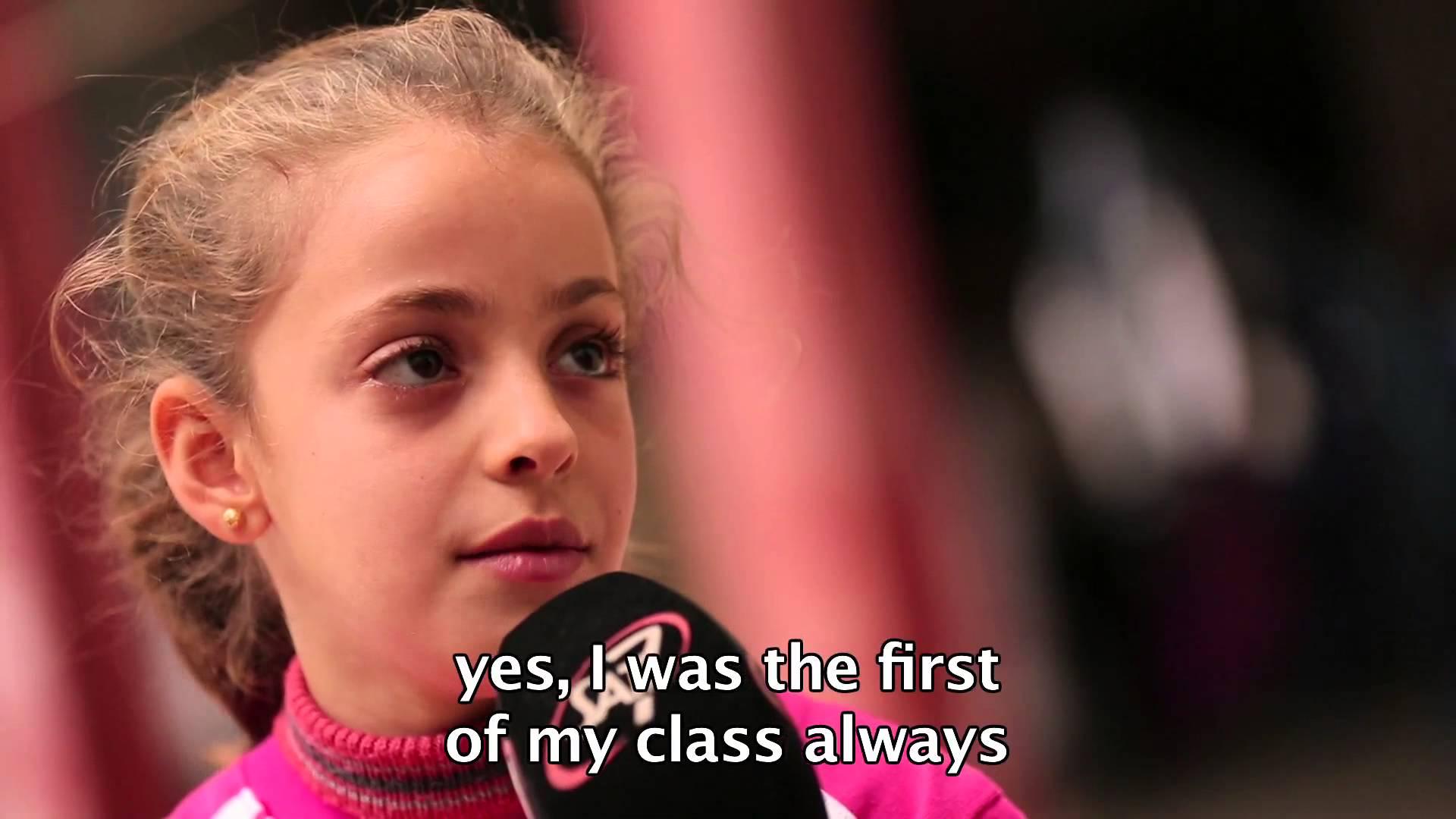 طفلة عراقية توجَّه خطابًا لاذعًا لتنظيم