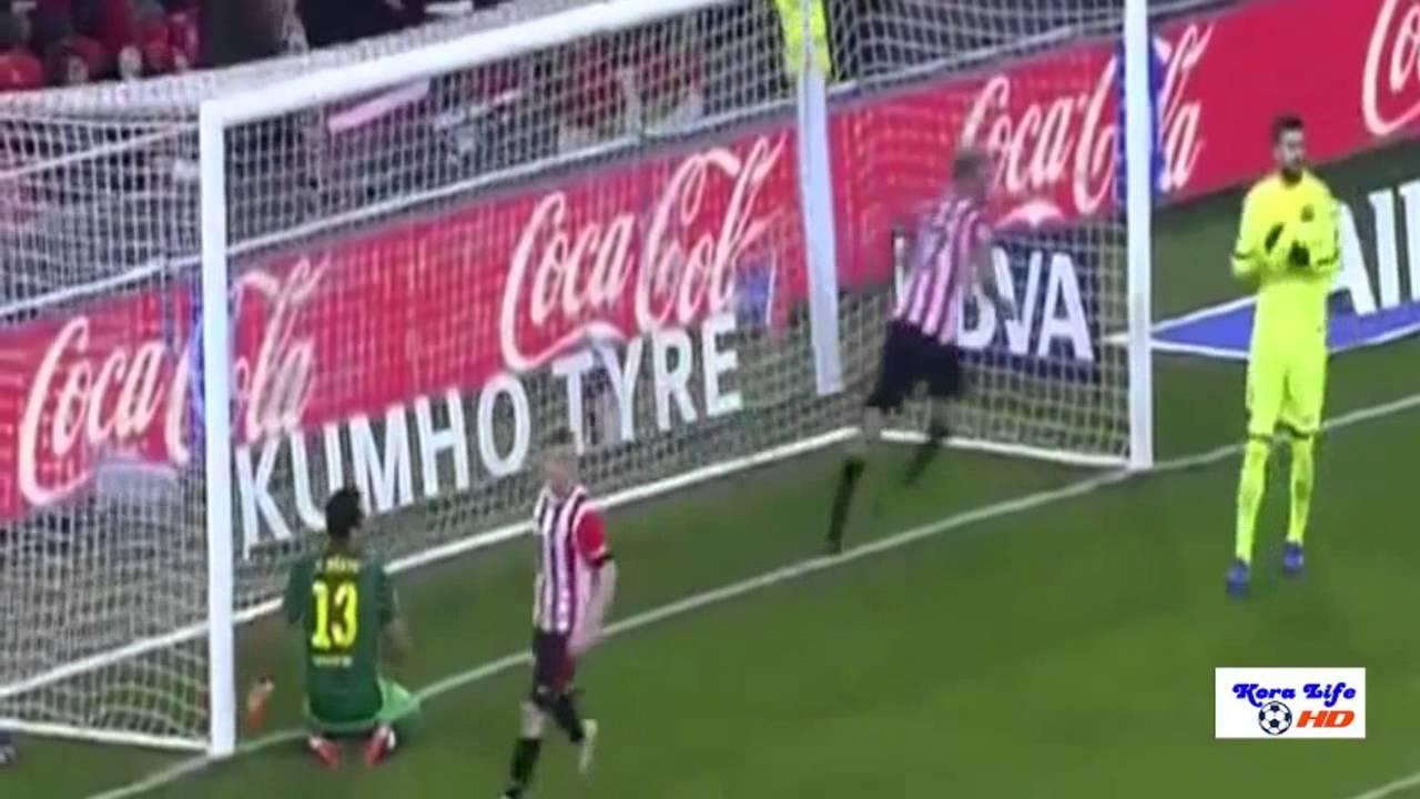 برشلونة واتلتيك بيلباو 5-2