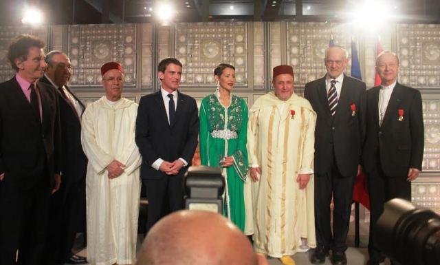 الأميرة للا مريم تسلم بباريس أوسمة ملكية لثلاثة من ممثلي الديانات السماوية بفرنسا