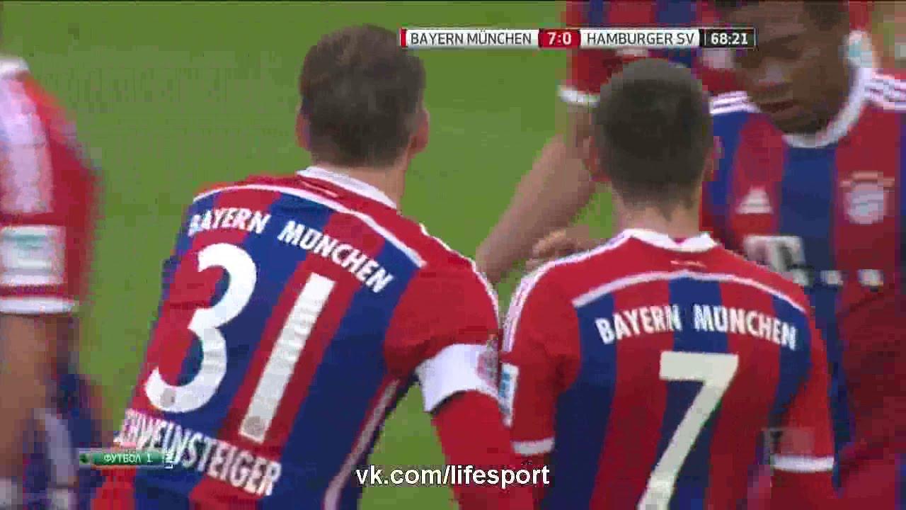 بايرن ميونخ وهامبورغ 8-0