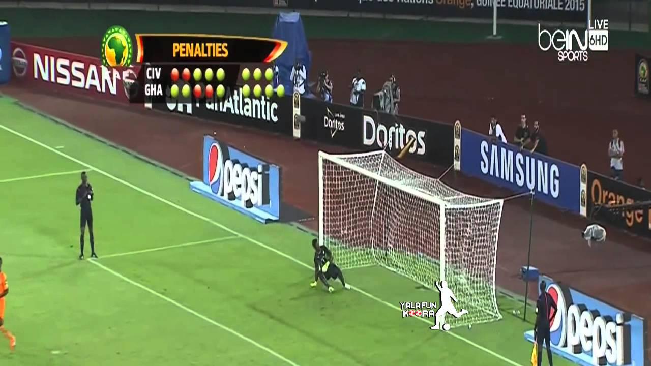 ساحل العاج وغانا 9-8