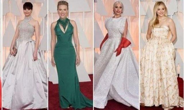 أجمل الفساتين التي زيّنت أوسكار 2015