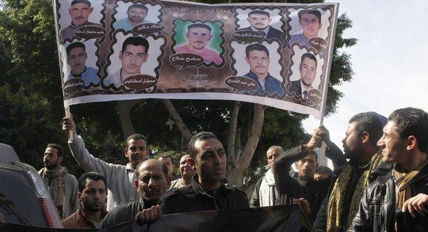 حالة طوارئ بالخارجية المصرية لتتبع مصير المختطفين في ليبيا