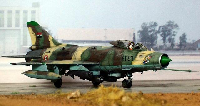 الجيش المصري يضرب مواقع