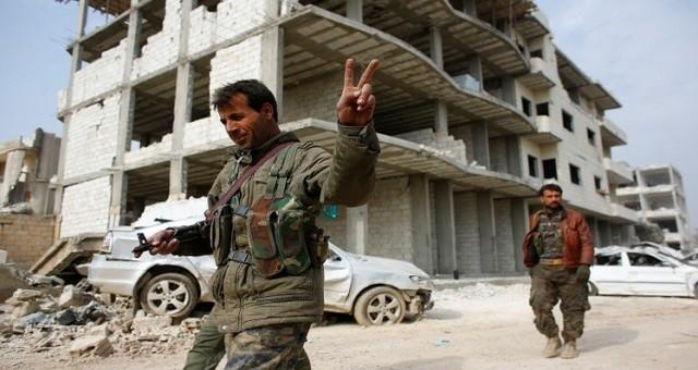 لأول مرة..قوات كردية تدخل الرقة