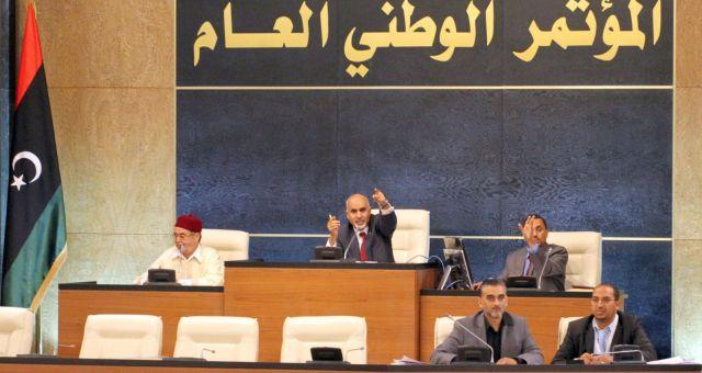 ليبيا: المؤتمر الوطني يدين قصف الجيش المصري لدرنة
