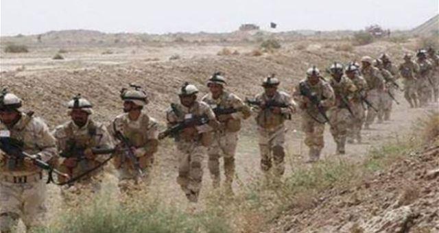 القوات العراقية تستعد لشن هجوم بري ضد