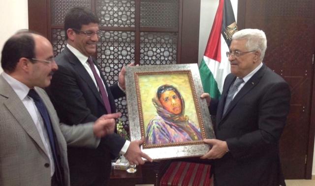 الرئيس أبو مازن يشيد بدور المغرب في دعم القضية الفلسطينية