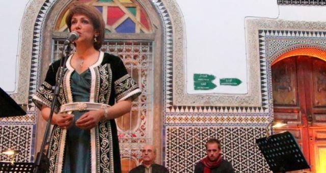 الفنانة سميرة القادري تحيي حفل جائزة الأركان للشعر