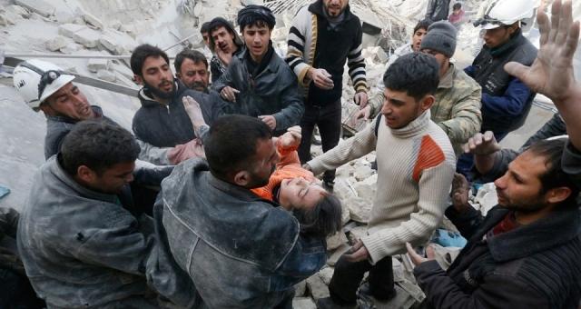 قوات الأسد استخدمت البراميل المتفجرة في مئات المناطق