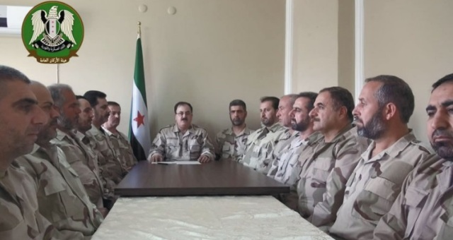 تشكيل جيش سوري معارض من 60 ألف جندي