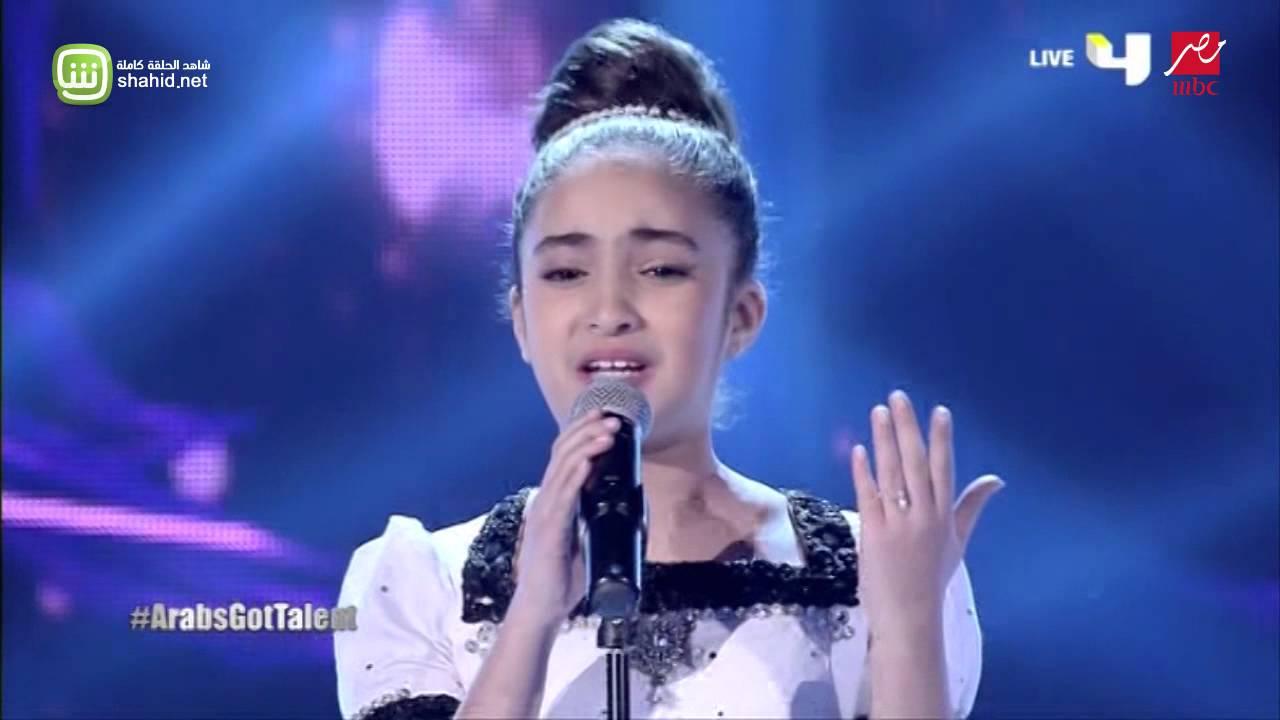 الطفلة المغربية هبة في Arabs Got Talent