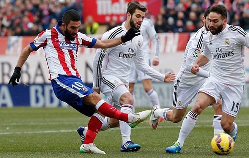 أتليتيكو مدريد يسحق الريال برباعية قاسية