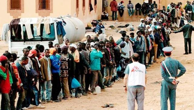 السلطات المغربية تقوم بإخلاء غابة من مهاجرين كانوا يعيشون في ظروف مزرية