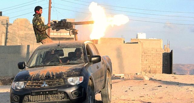 استمرار المعارك بين قوات حفتر وفجر ليبيا بالزاوية
