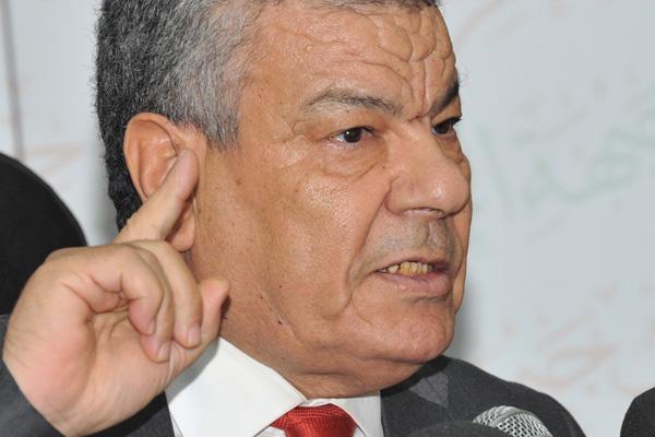 سعداني يعلن عن تراجعه عن المشاركة في ندوة الإجماع الوطني