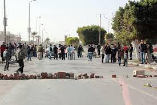 محتجون بولاية بومرداس الجزائرية يقطعون طريقا ولائيا