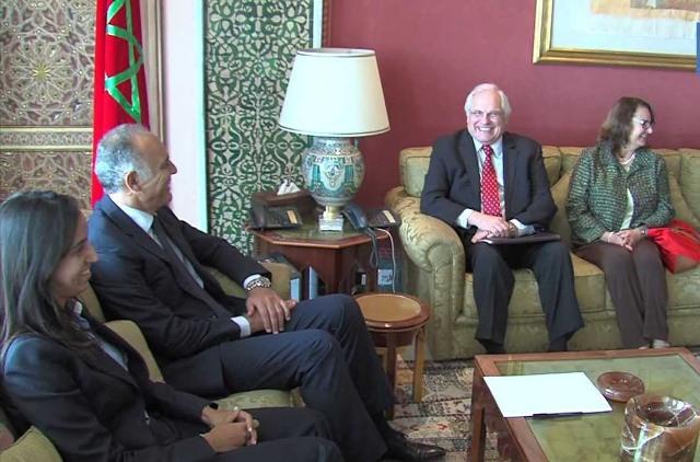 مباحثات بين وزير خارجية المغرب والمبعوث  الأممي إلى الصحراء