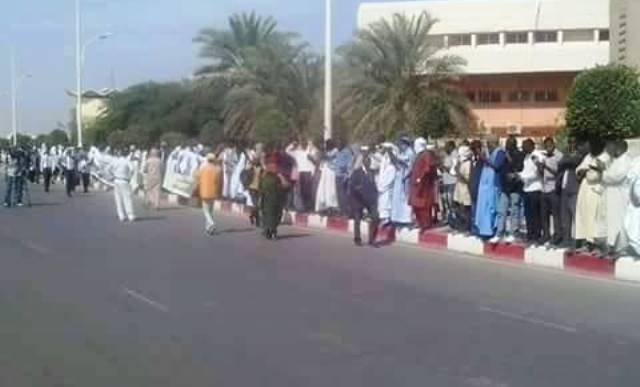 احتجاجات في نواكشوط للمطالبة باطلاق معتقلي حركة إيرا