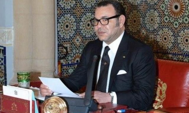 العاهل المغربي يرد على