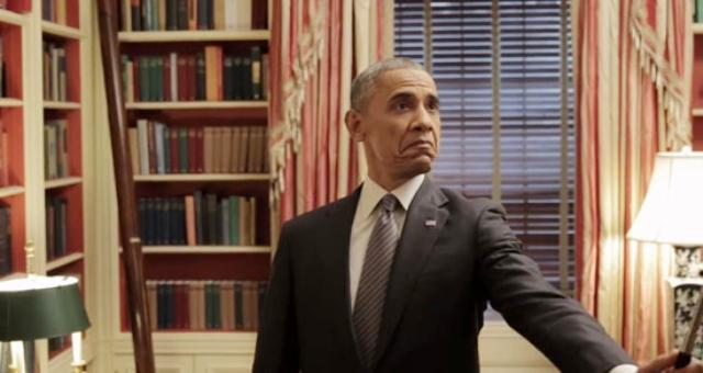 بالصور.. هوس «السيلفي» ينتقل للبيت الأبيض
