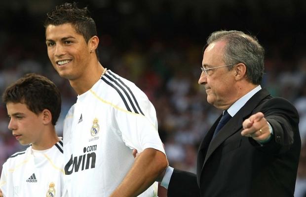 رونالدو يلتقي رئيس الريال بيريز من أجل هدف هام