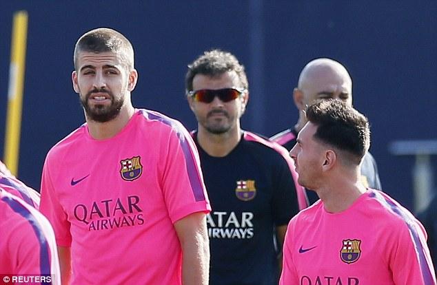 مشادات بين ميسي ومدرب برشلونة إنريكي