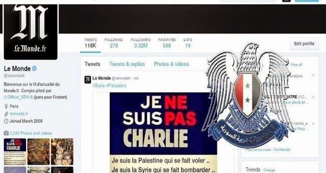 اختراق حساب صحيفة «لوموند» الفرنسية