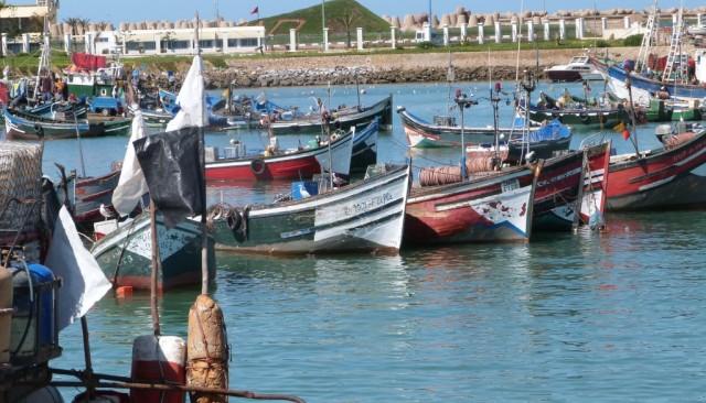 إنقاذ 13 صيادا مغربيا كانوا في وضعية صعبة بسواحل المحمدية