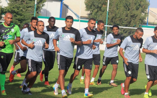 الرجاء يستعد لأول مباراة مصيرية في أبطال افريقيا