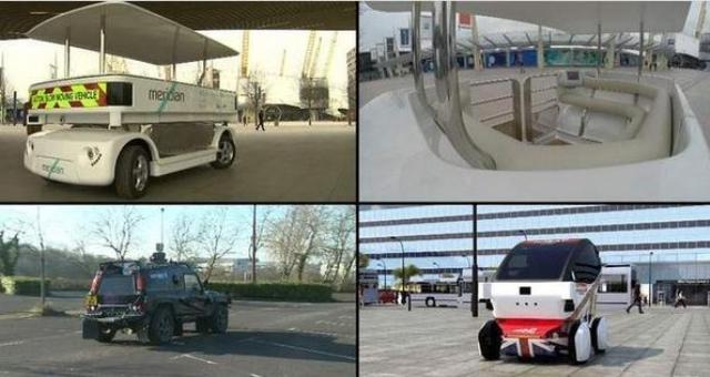 بالصور .. «سيارات بدون سائق » في شوارع لندن