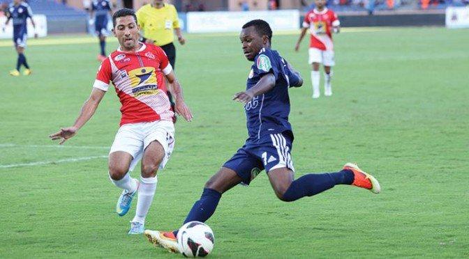 الكوكب يواصل مطاردة الوداد في البطولة المغربية