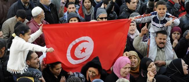 وقفة تضامنية بتونس العاصمة مع المحتجين جنوبي البلاد