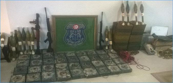 تونس: العثور على مخزن ثان للأسلحة بمدينة بن قرادان