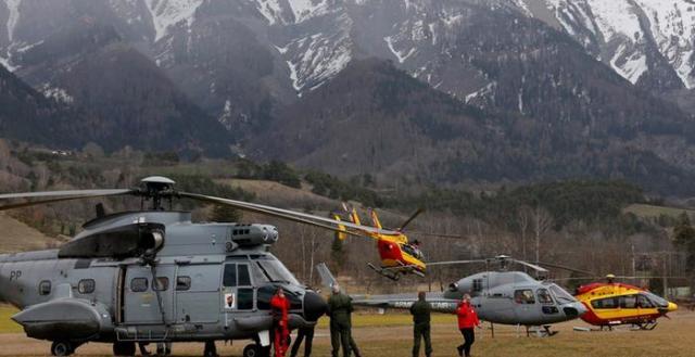 مغربيان ضمن ضحايا حادث سقوط الطائرة الألمانية في الأراضي الفرنسية