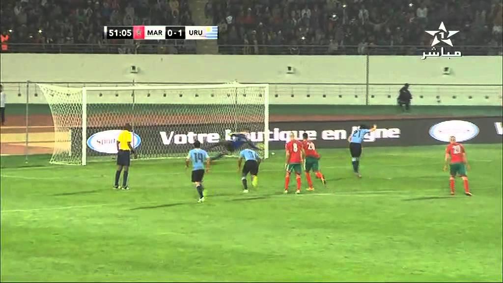المغرب 0 - 1 أوروغواي
