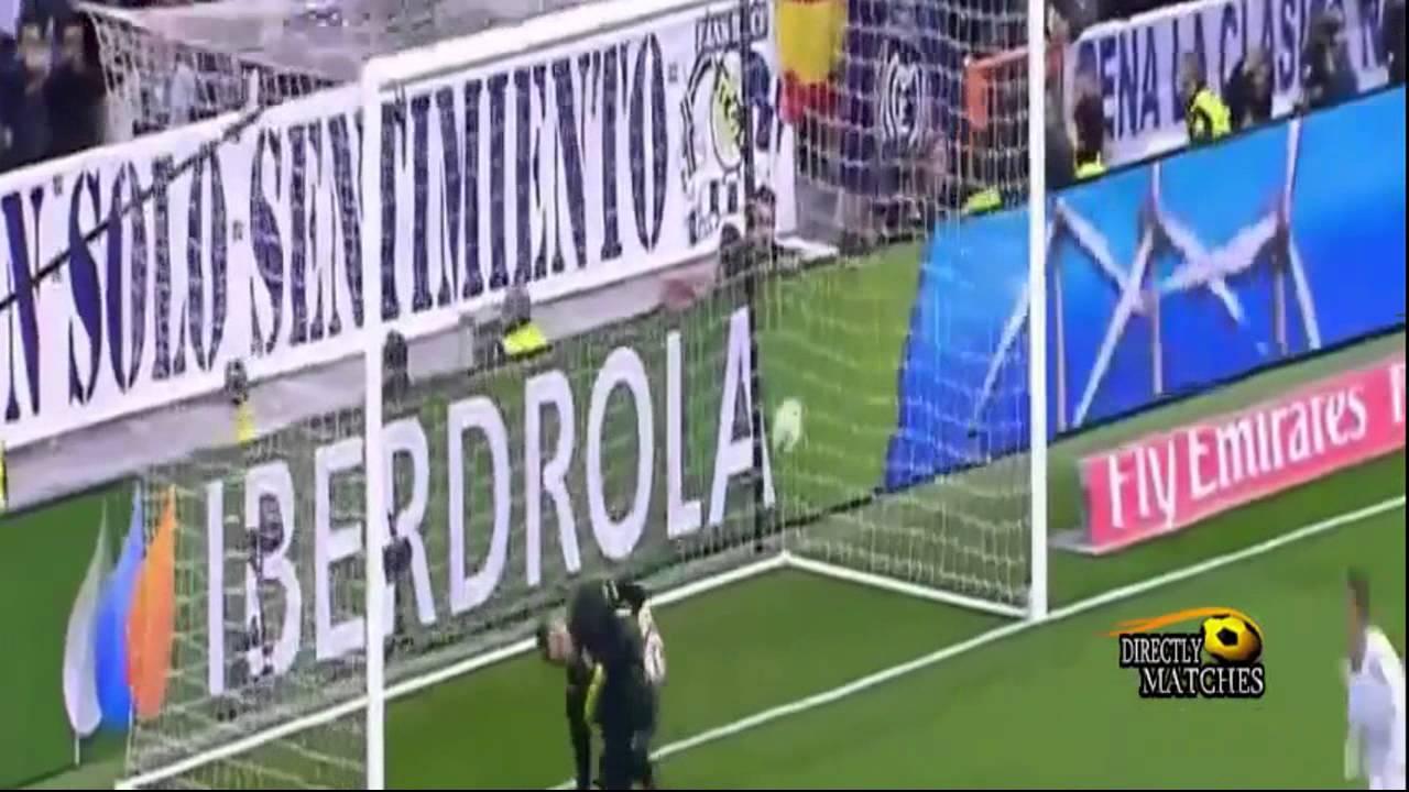ريال مدريد وفياريال 1-1