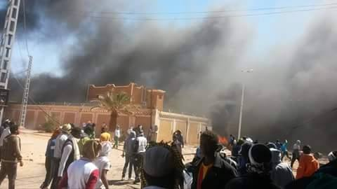 الجزائر.. مناهضوا استغلال الغاز الصخري يعودون إلى مواصلة الاعتصام بعد المواجهات العنيفة