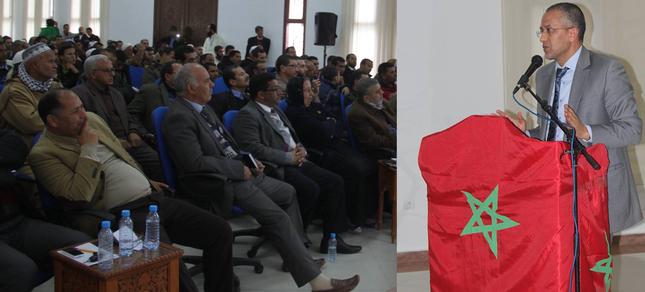 الشوباني: انتهى عهداحتكار السلطة من طرف المنتخبين