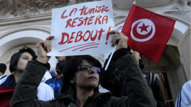 كرنوروجيا أحداث هزت أمن تونس بعد سقوط بن علي