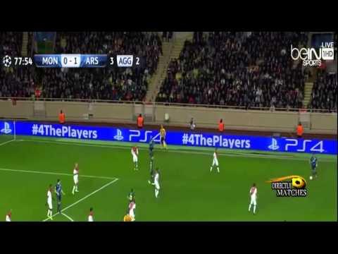 ارسنال 2-0 موناكو