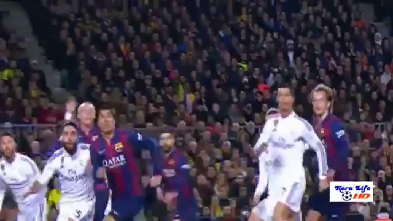 برشلونة 2 ريال مدريد 1