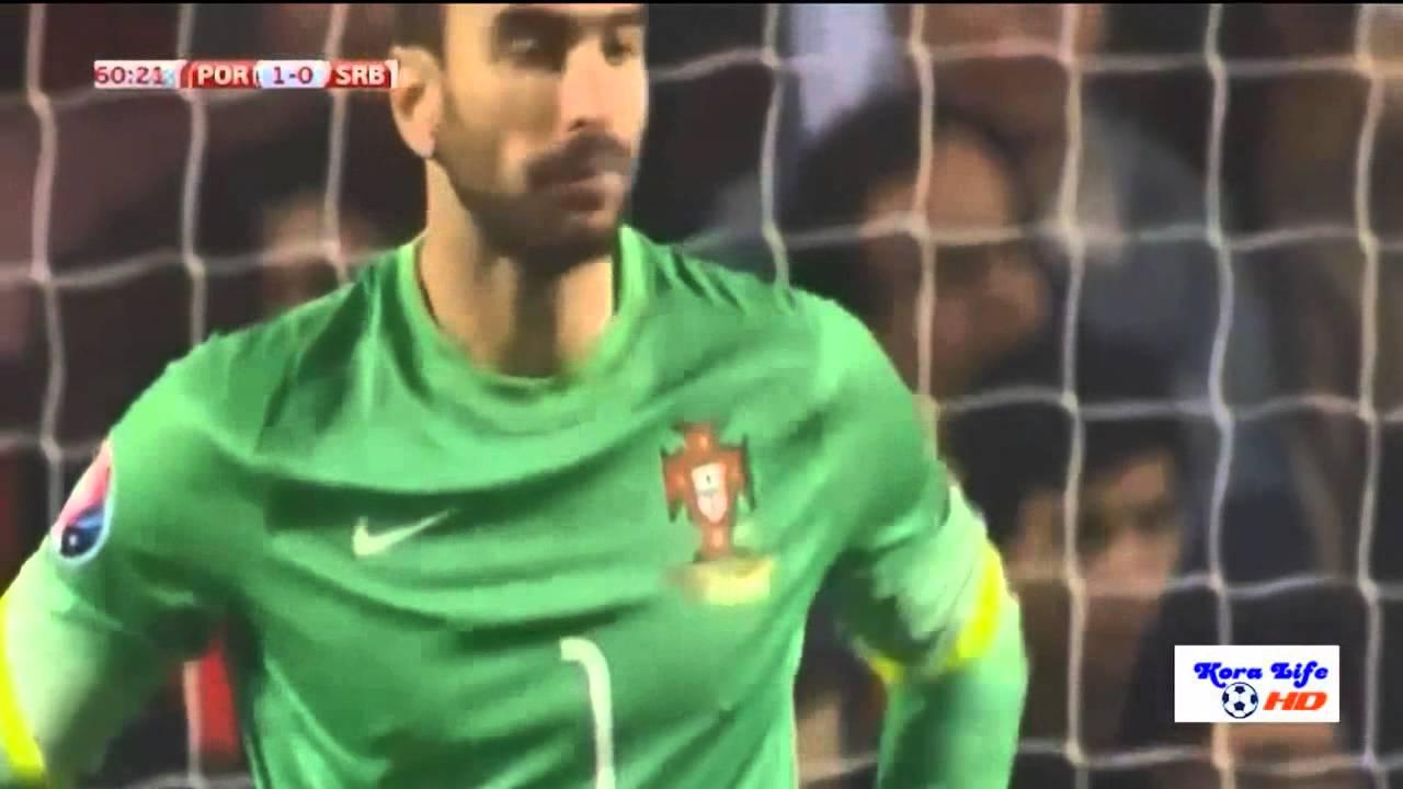 البرتغال وصربيا 2-1