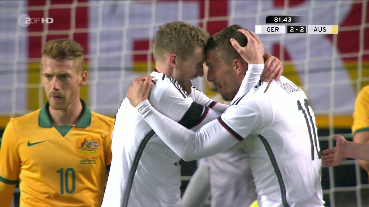 استراليا والمانيا 2-2