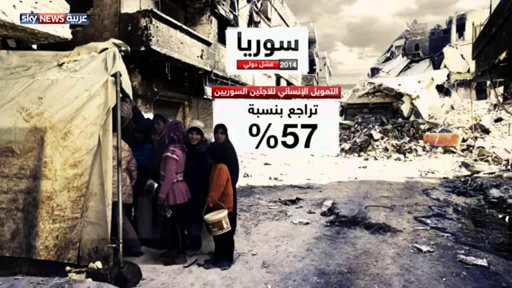2014: عام أسود للاجئين السوريين