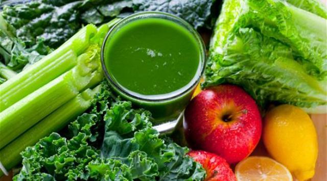 وصفة العصير الأخضر المثالي لصحتك
