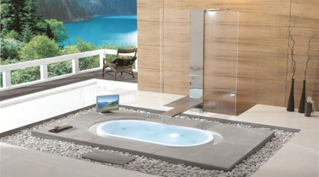 بالصور: 5 تصاميم فريدة لأحواض الاستحمام